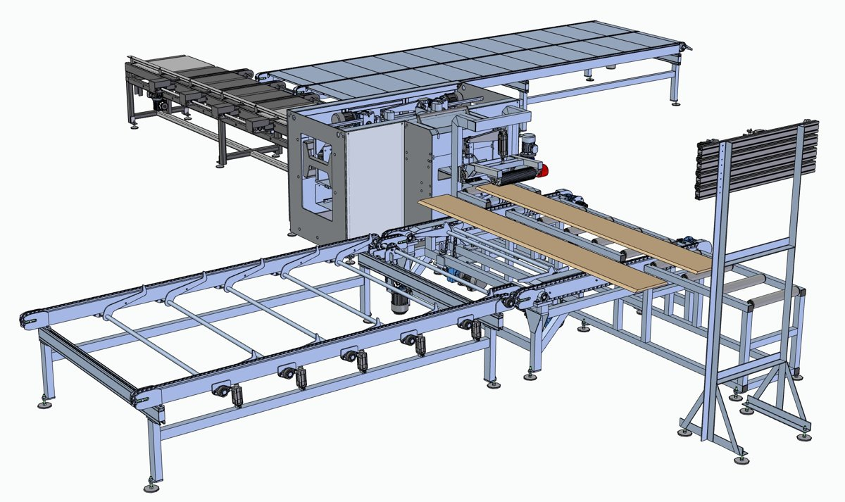 MULTIPLE SAW DZ-4-650 FORMA woodworking solutions