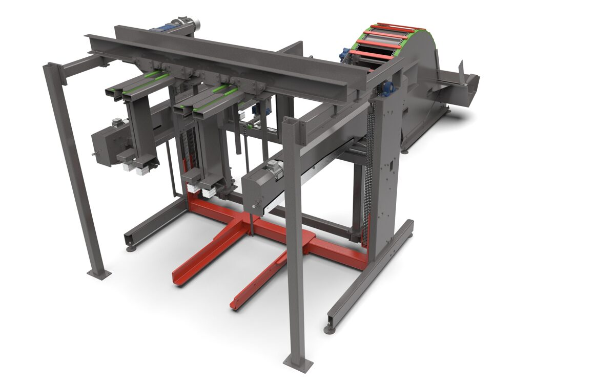 Timber stacker FORMA
